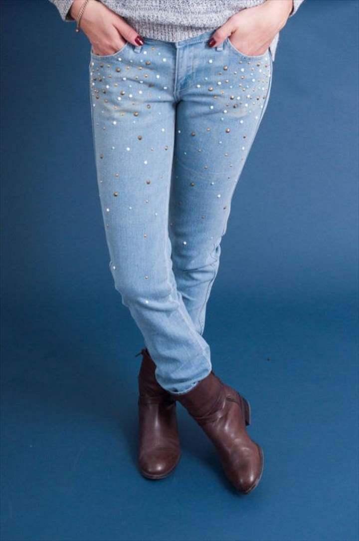 Easy Embellished Jeans