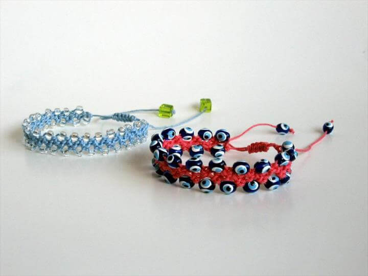 Bead Crochet, Crochet Bracelet and Flats