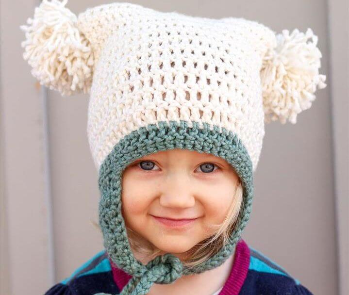 This free crochet beanie pattern is perfect for beginners