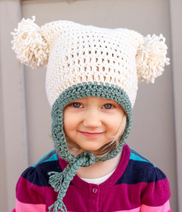30 Amazing Crochet Pom Pom Hat Ideas Diy To Make