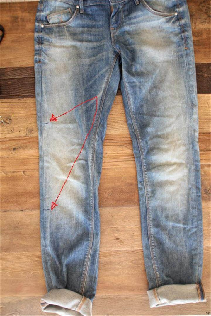 Truly Awesome DIY Ideas To Renew Your Old Jeans