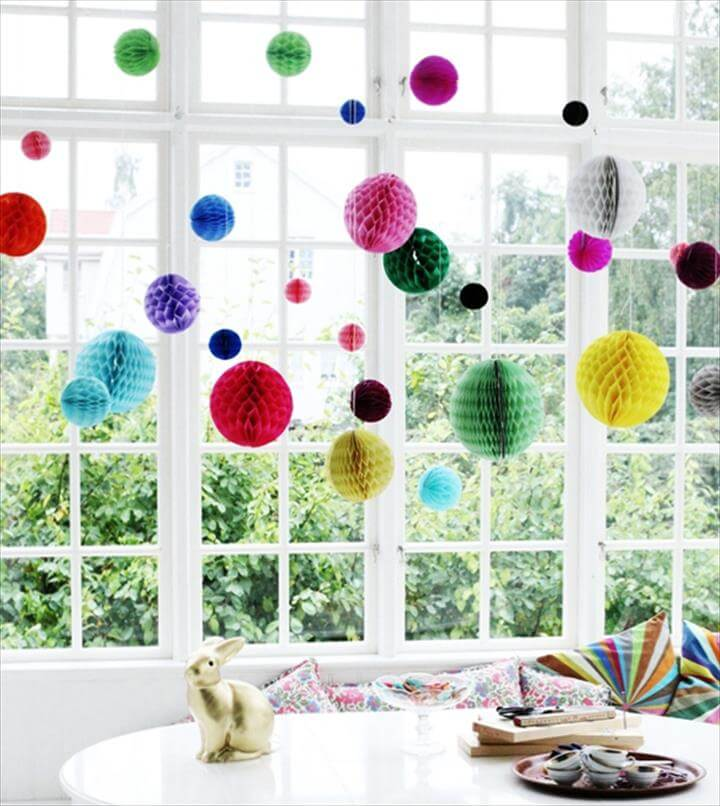 Window displays for craft shops