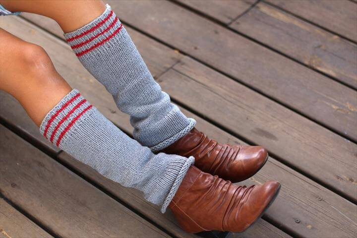 crochet leg warmers to make you smile all day long from sweet_reader