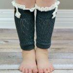 72 Adorable Crochet Winter Leg Warmer Ideas