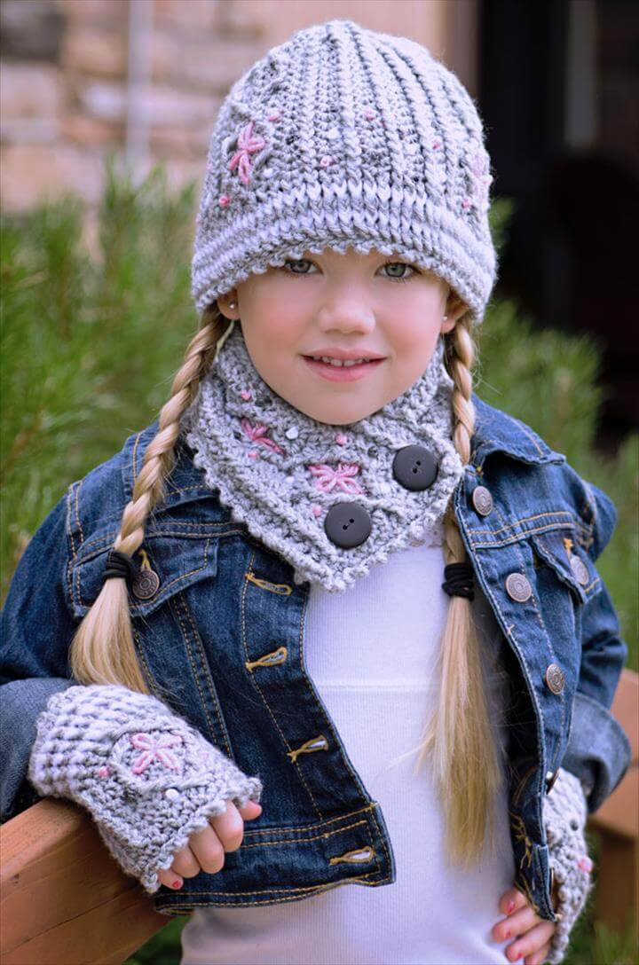 Kids Crochet Neck Warmer