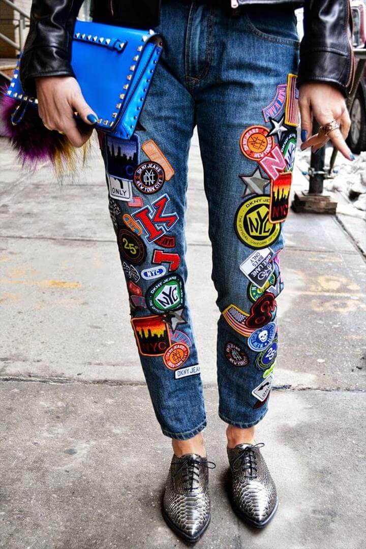 Transform Your Old Jeans Into Fashionable And Chic Wear