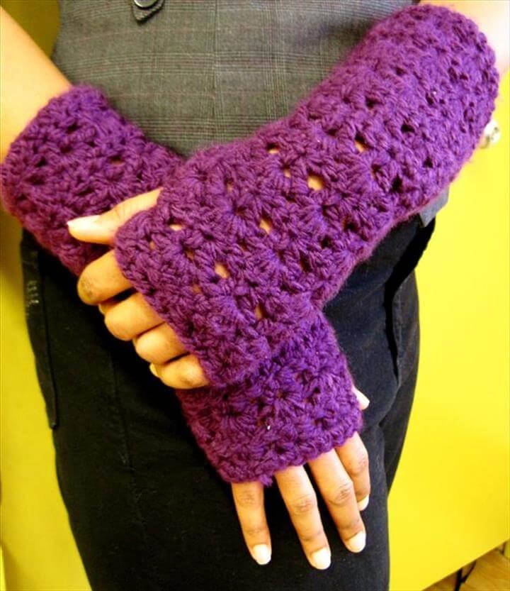Crochet: Keeping the palms warm