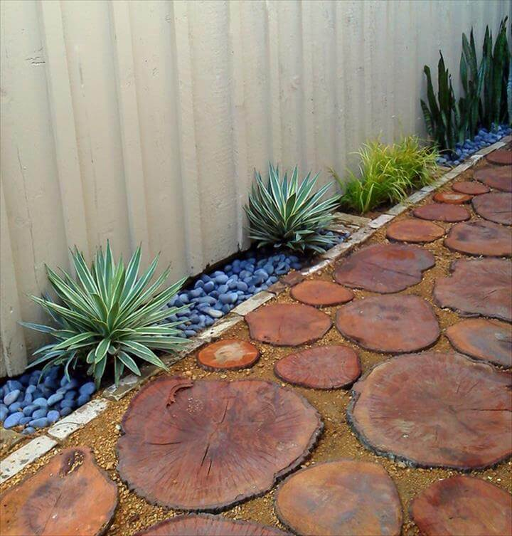 Recycled Tree Stump Pavers