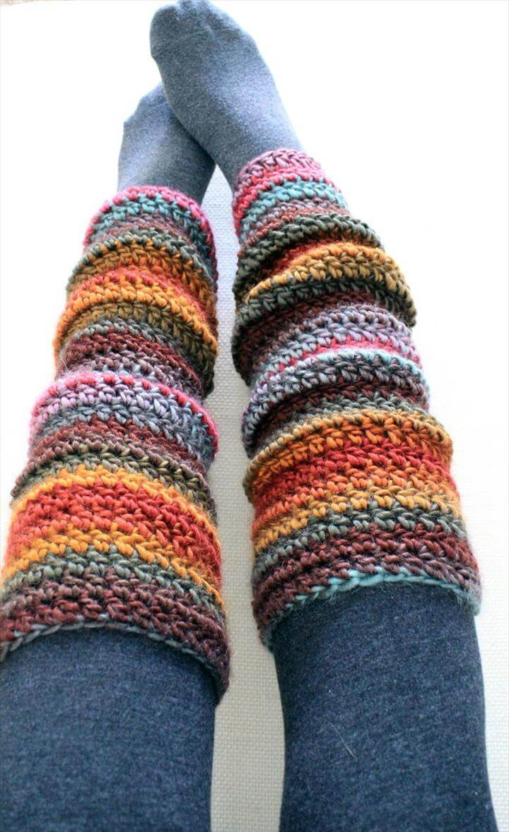 Leg Warmers, Crochet and Crochet Patterns