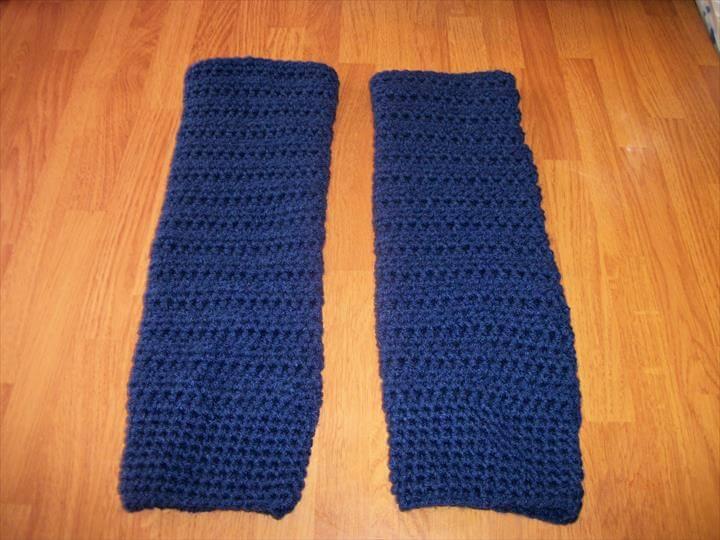 Crochet legwarmer patterns