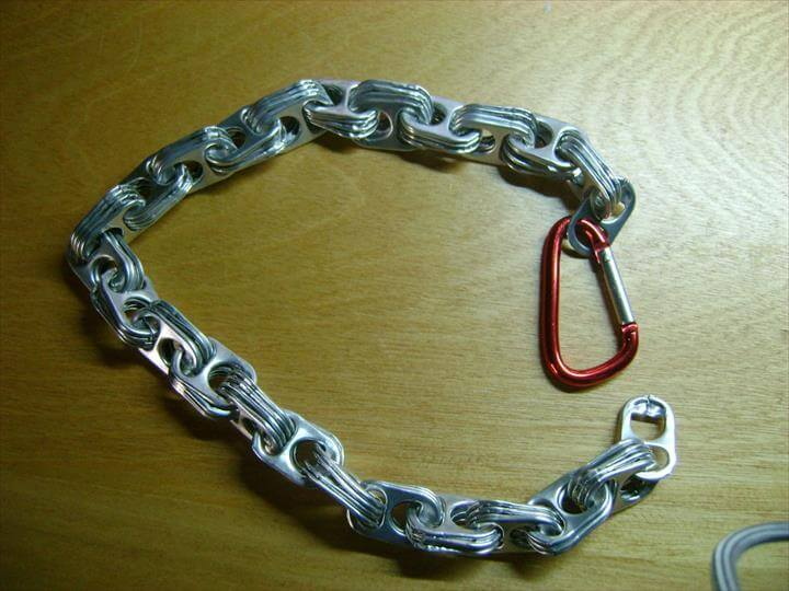 Soda Tab Chain Necklace
