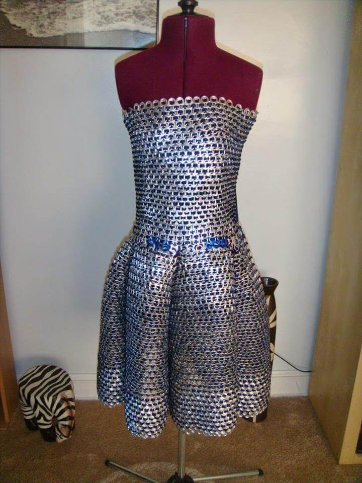 Fantastic pop tab dresses ideas diy: