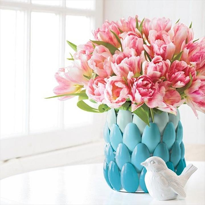 amazing diy spoo vase