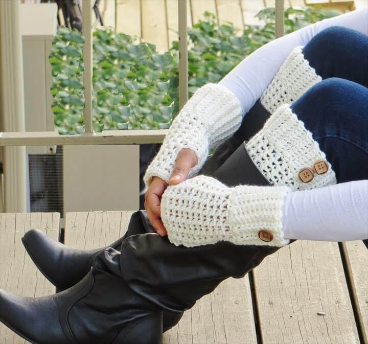 amazing crochet armwarmer