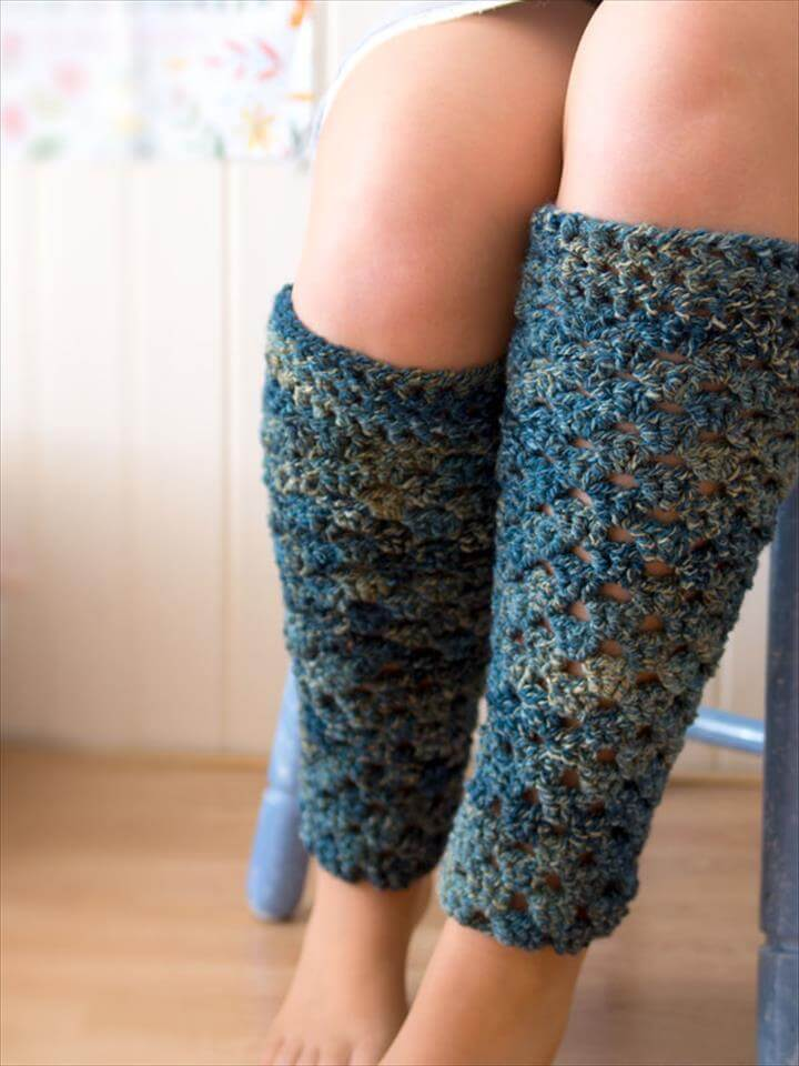Crochet a Pair of Leg Warmers