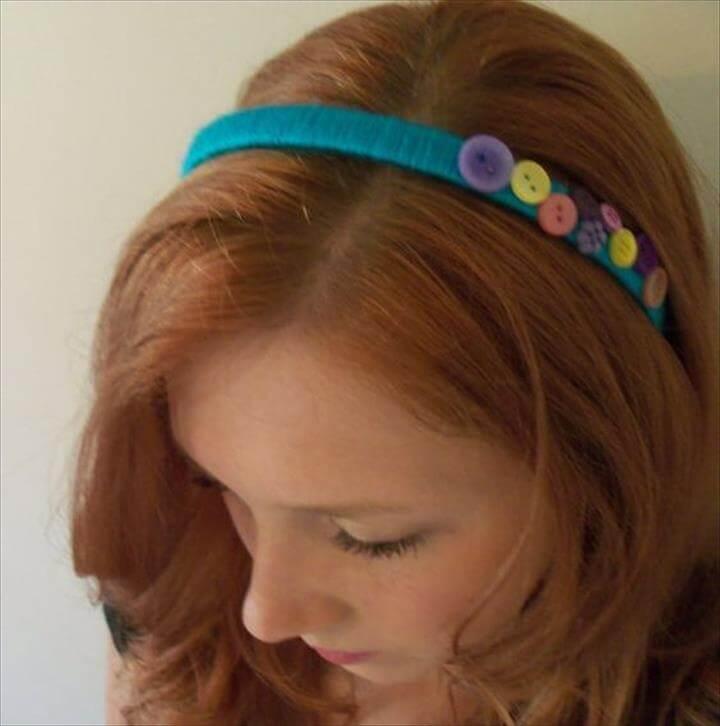 cute yarn headband