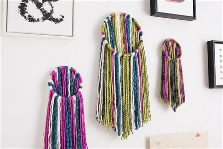 yarn-wall-hanging