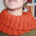 beautiful crochet Neck warmer design