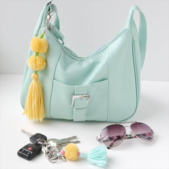 Pom Pom Charms bag