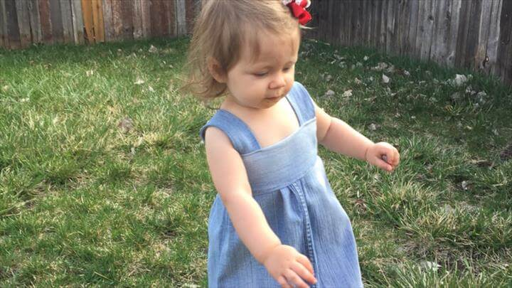 Sew an Adorable Denim Dress out of Old Jeans