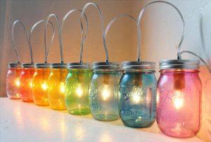 35 Mason Jar Lights Do It Yourself Ideas