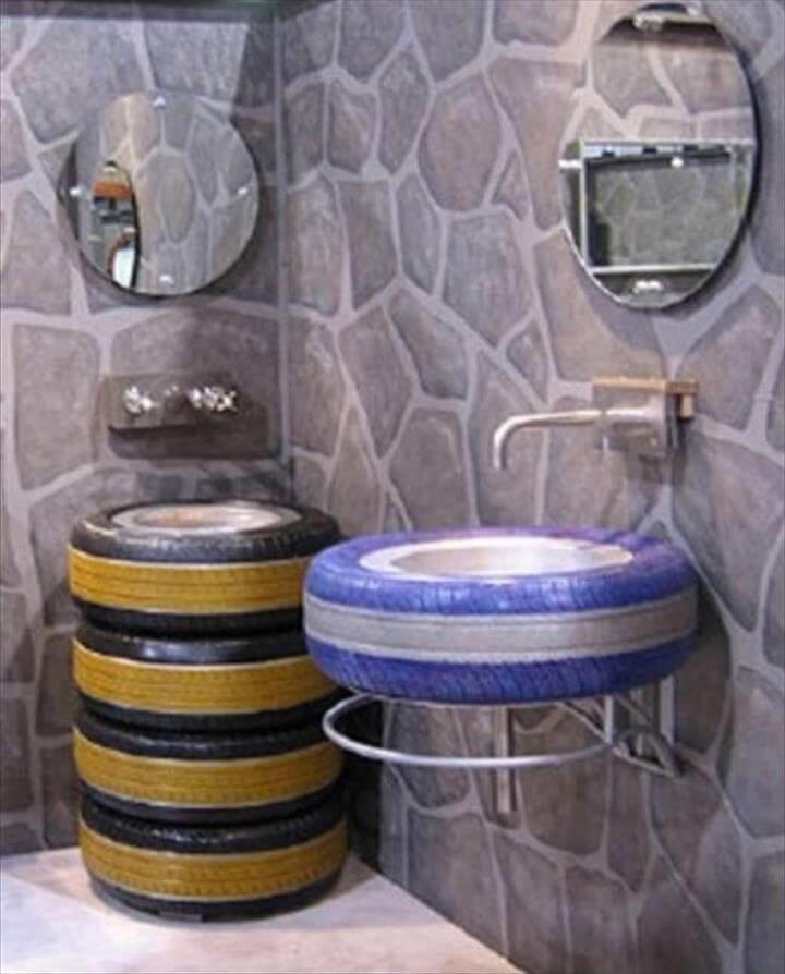 Bathroom tires fotor