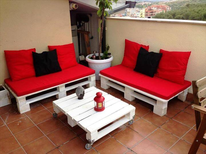 Ideas Pallet Garden Sofa