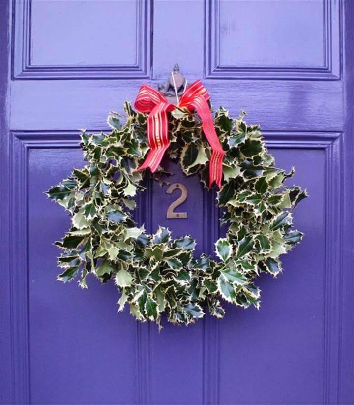 Decorative Bike Rim Wreath