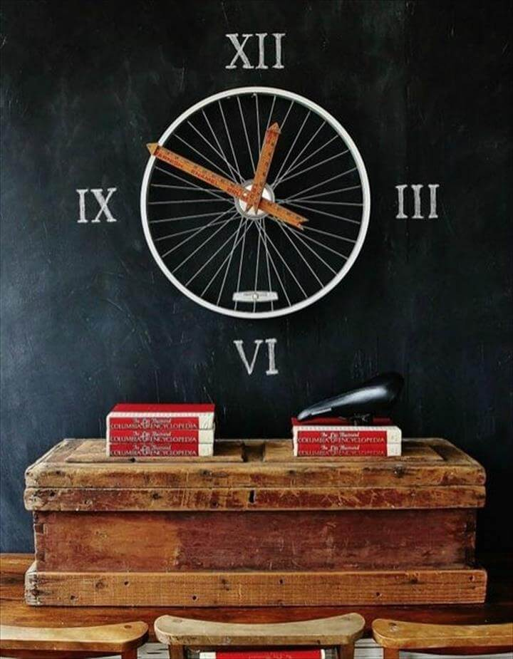amazing diy wall clock