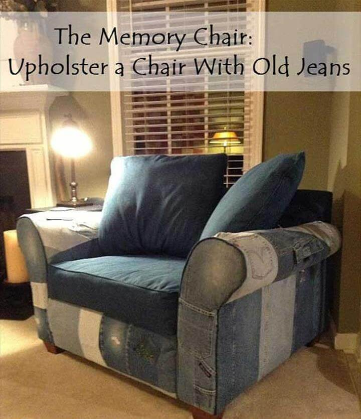 jeans sofa cover