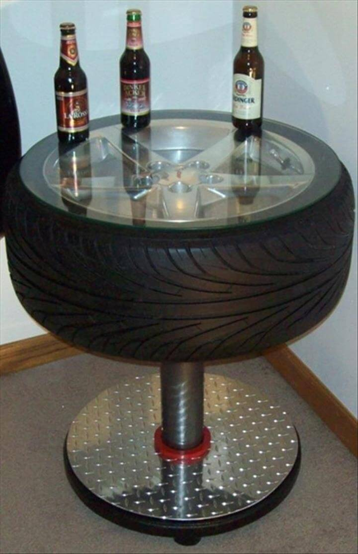 Recycled Tire Idea: