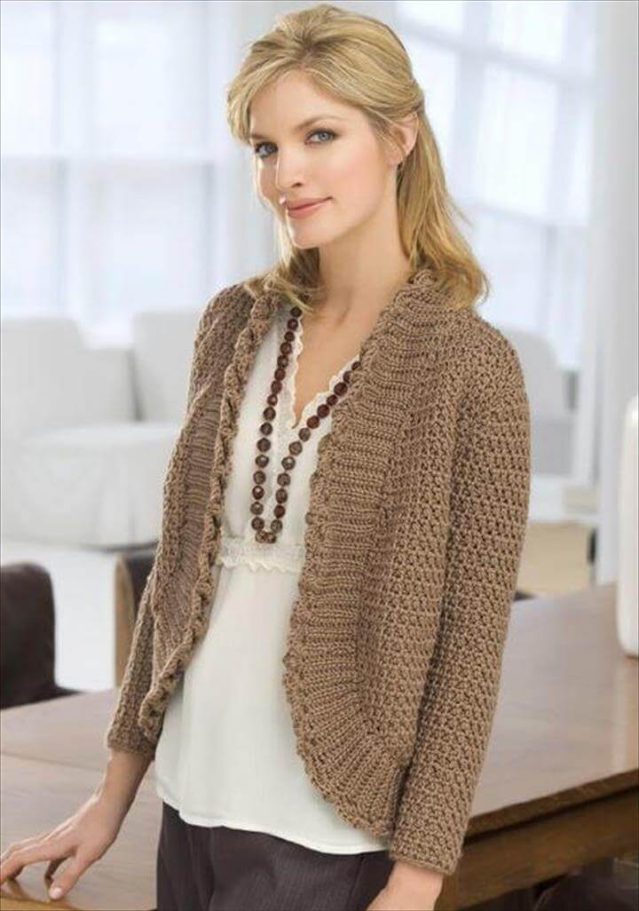 Colder-Weather Crochet Cardigans