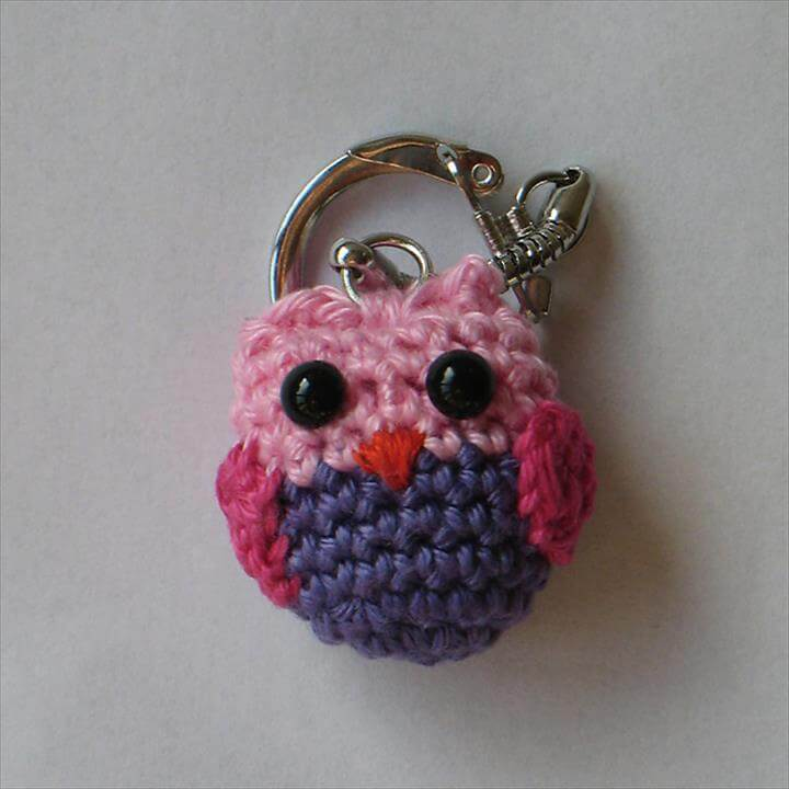 Aldi Knitting Pattern Baby Blanket : 62 Easy Handmade Fun Crochet Pattern Keychains DIY to Make