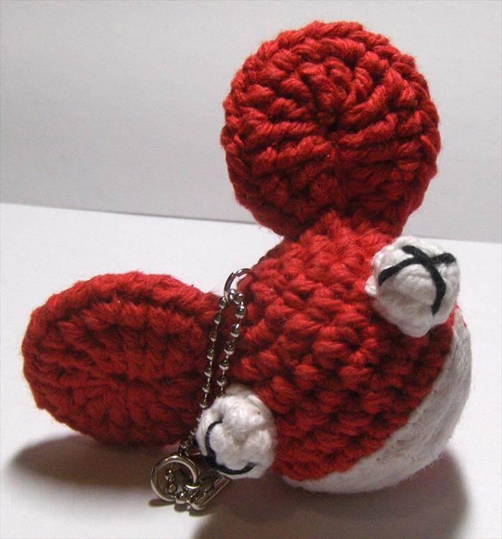 Amigurumi Keyring Pattern : 62 Easy Handmade Fun Crochet Pattern Keychains DIY to Make