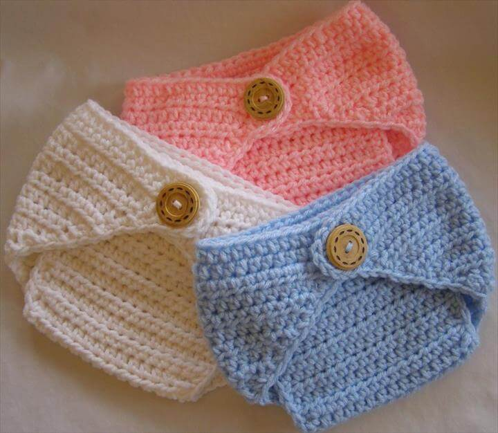 65 Crochet Amazing Baby Diaper For Outfits DIY to Make
