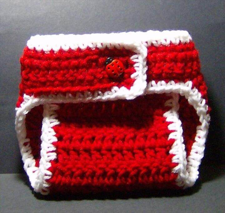 Crochet Diaper Cover |
