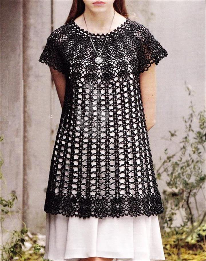 Long lace tunic