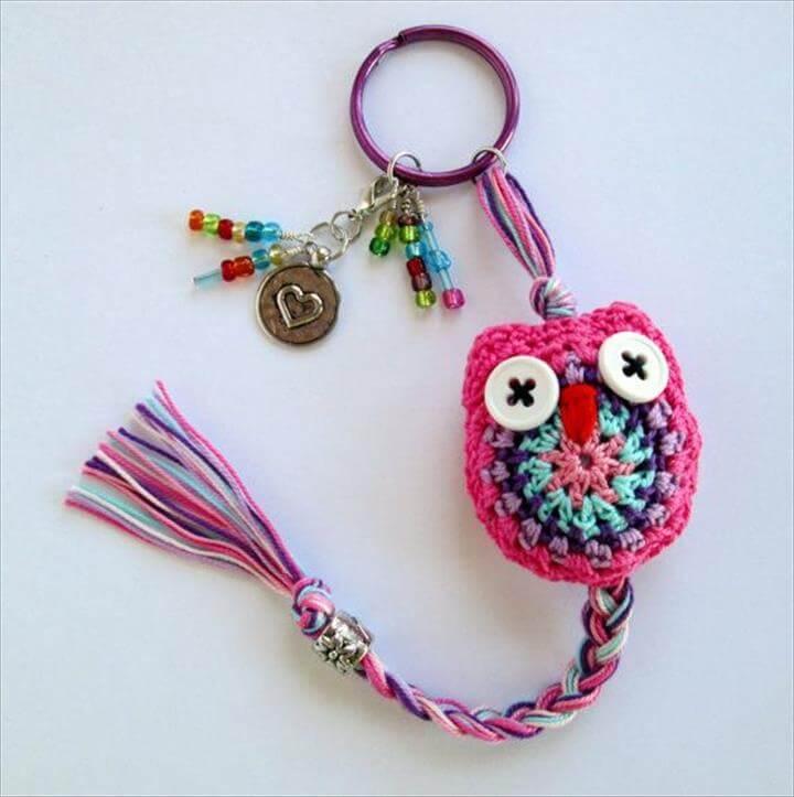 crochet-owl-keyring