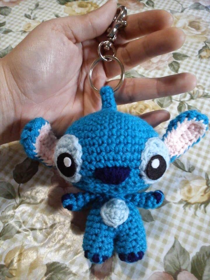crochet-stitch-keyring