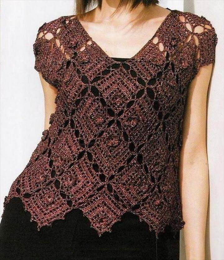 Crochet Sweater Pattern Free