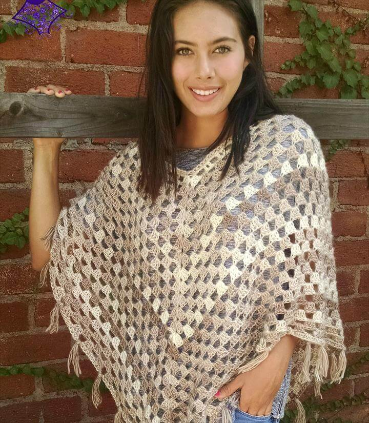 Timeless Boho Poncho - Free Patterns