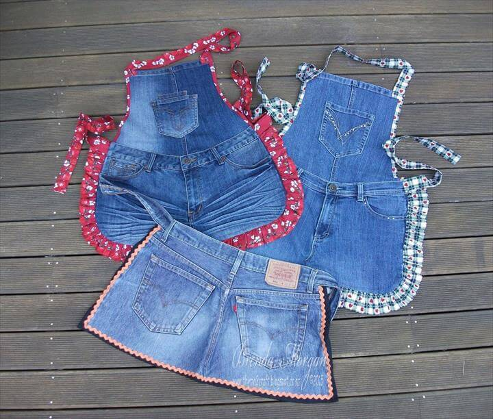 Recycled Denim Shorts