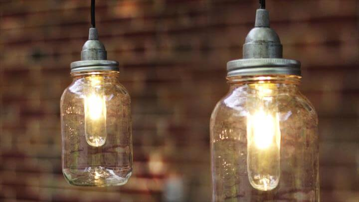 lighting mason jars