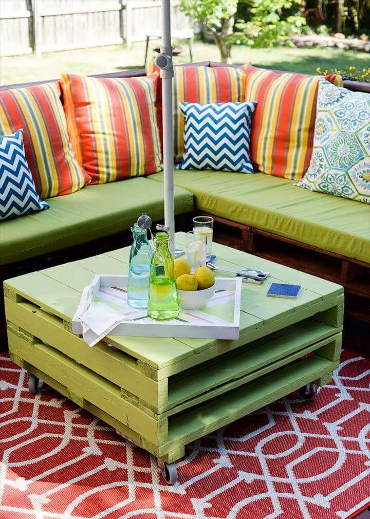 Complete Pallet Furniture Makeover!
