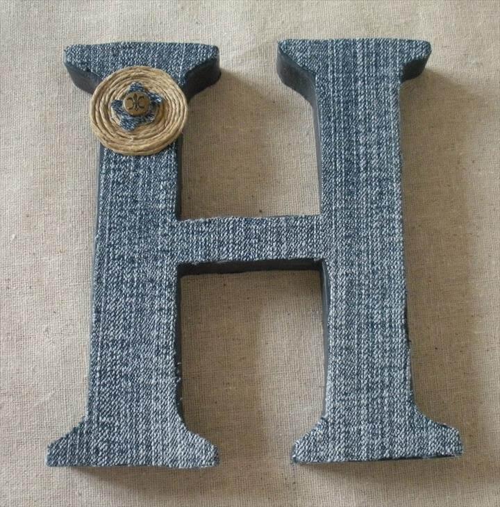 jeans letter