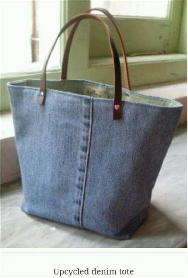 Denim Bag,