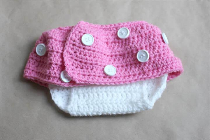 Free Diaper Crochet Cover Pattern