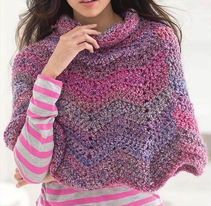 Free Poncho Crochet Patterns