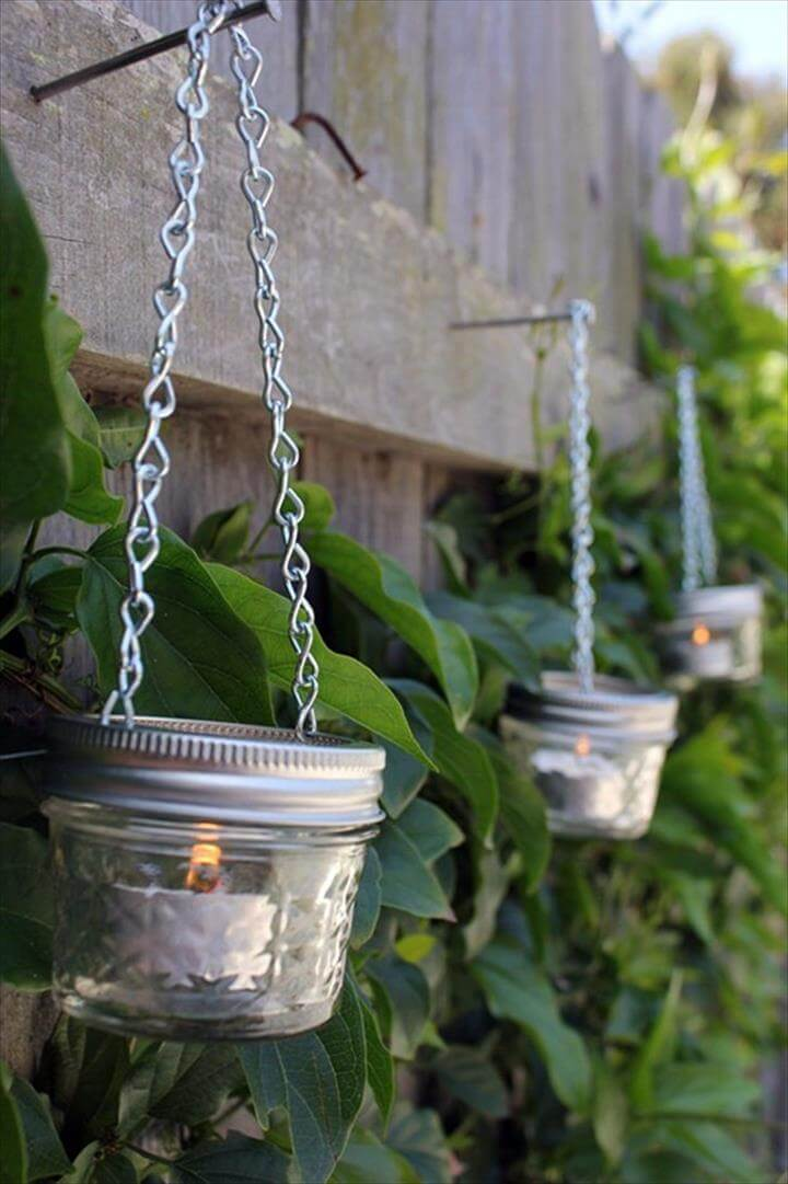 35 Mason Jar Lights Do It Yourself Ideas Diy To Make