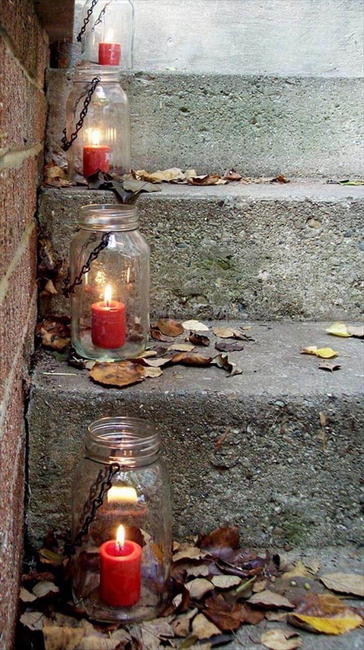 Mason Jar Lanterns or Lights